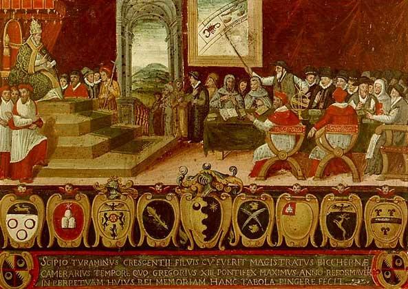 КОМИССИЯ по реформированию календаря (1582).